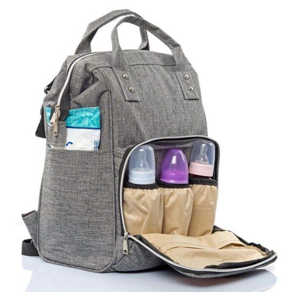Τσάντα μωρού πλάτης – Γκρί TP-1707